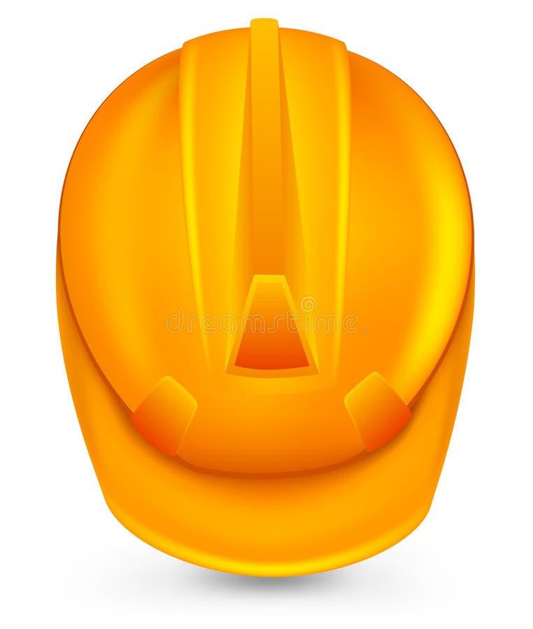 Chapeau de sécurité. illustration stock