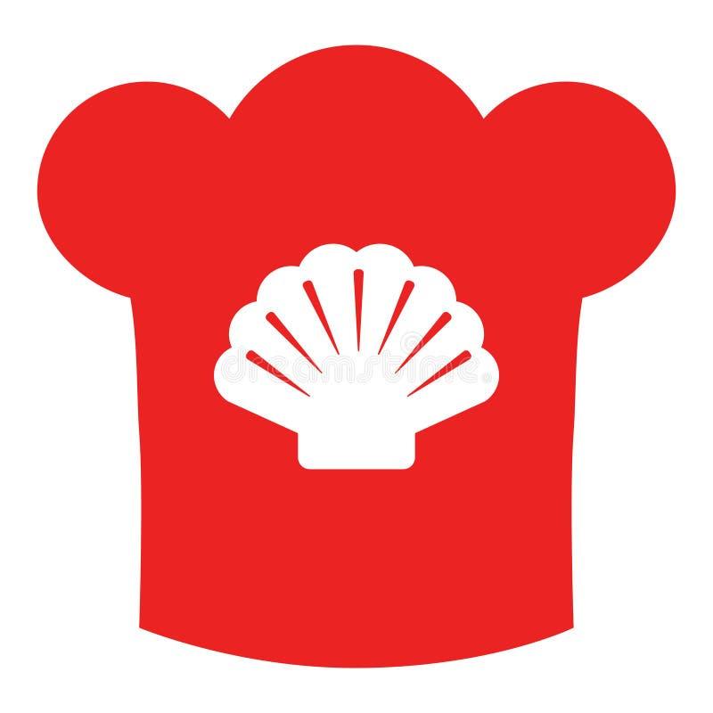 Chapeau de Shell et de chef illustration libre de droits