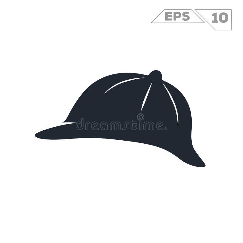 Chapeau de Sherlock Holmes illustration libre de droits