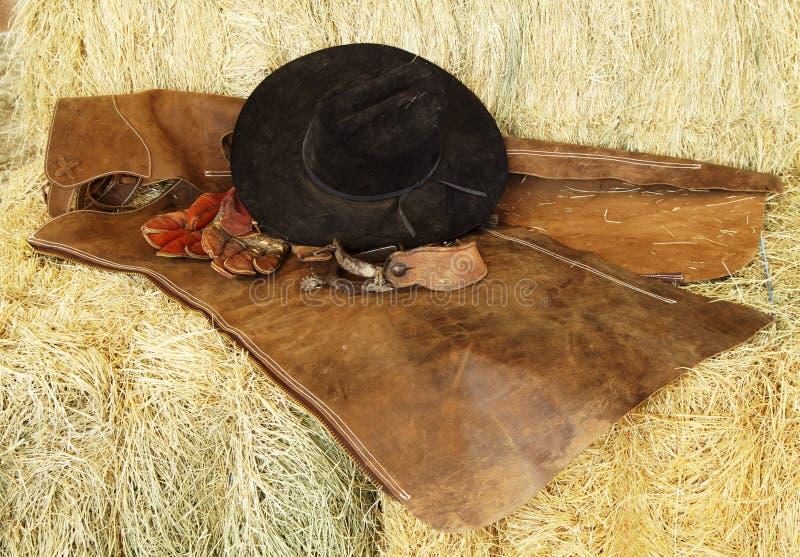 Chapeau, gants et dents image libre de droits