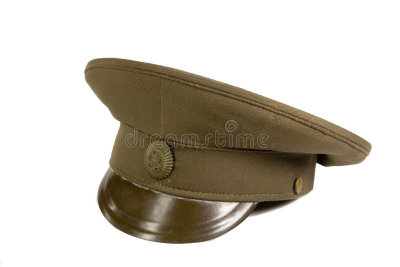 Chapeau militaire photo stock