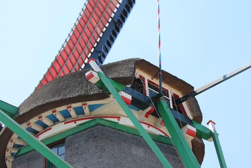Chapeau néerlandais de moulin photo stock
