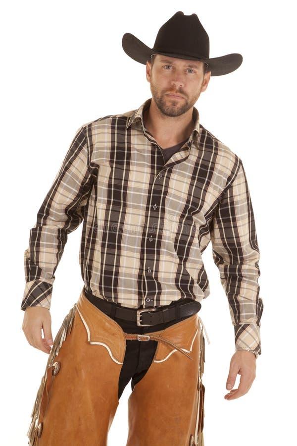 Chapeau noir de cowboy photo libre de droits