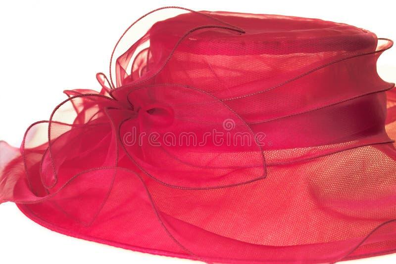 Chapeau rouge images libres de droits