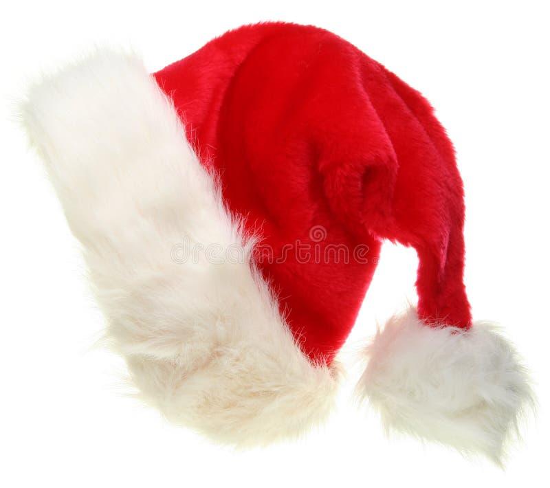 chapeau Santa de Claus photographie stock libre de droits