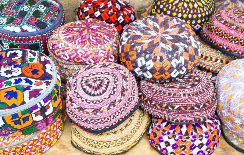 Chapeaux colorés photo libre de droits