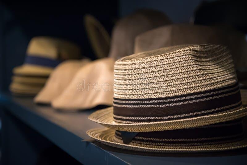Chapeaux de chapeaux de chapeaux photo libre de droits