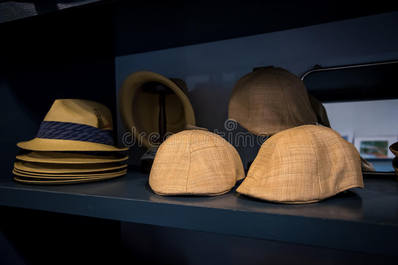 Chapeaux de chapeaux de chapeaux images stock