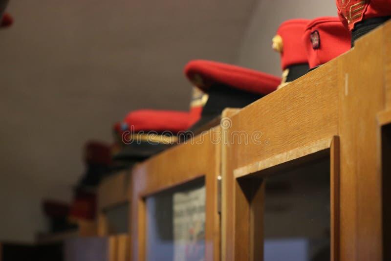 Chapeaux de Railjet photo stock