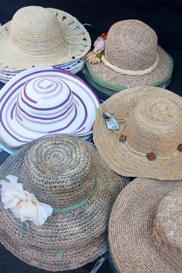 Chapeaux pour le soleil photos stock