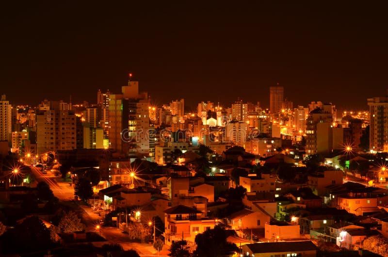 Chapeco, βραζιλιάνα πόλη στοκ φωτογραφία με δικαίωμα ελεύθερης χρήσης