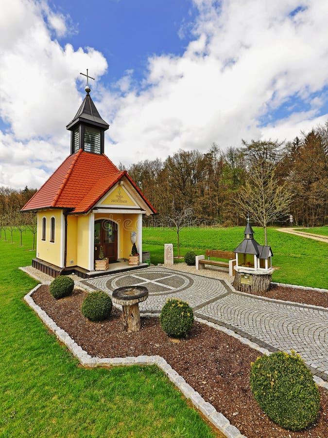 Chapel In Bavaria Stock Photography