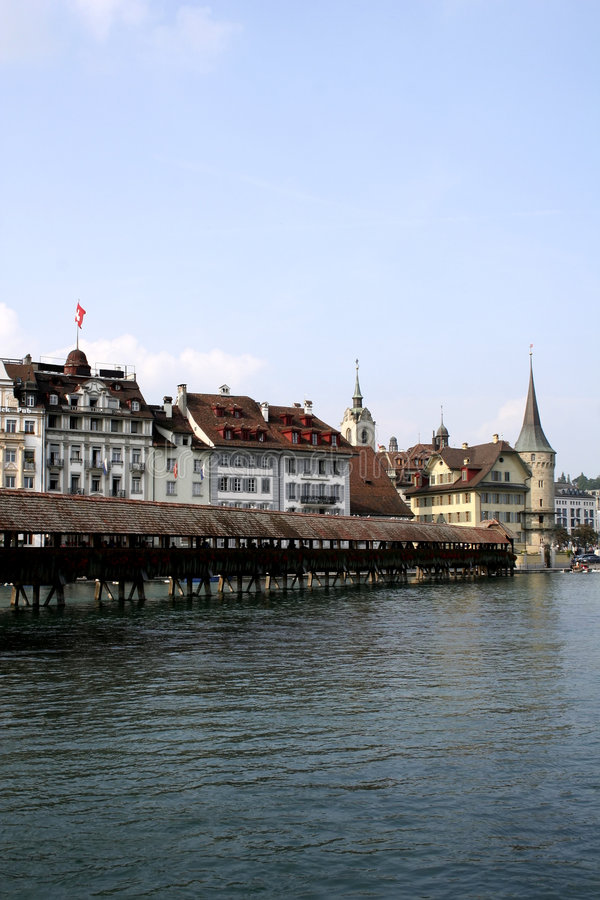 Download Chapel-Bridge In Lucerne Stock Photography - Image: 568602