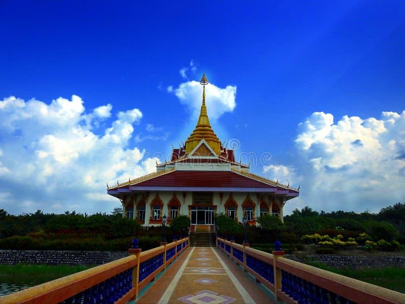 Chapel buddha outdoor. royalty free stock photography