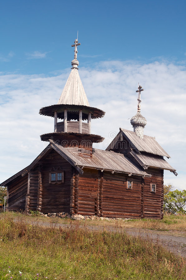 chapel drewniany fotografia stock