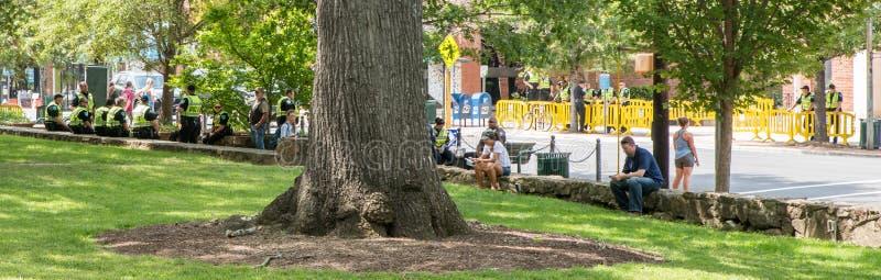 Chapel Hill Carolina del Norte, demonios unidos de los estados 25 de agosto de 2018 - fotografía de archivo