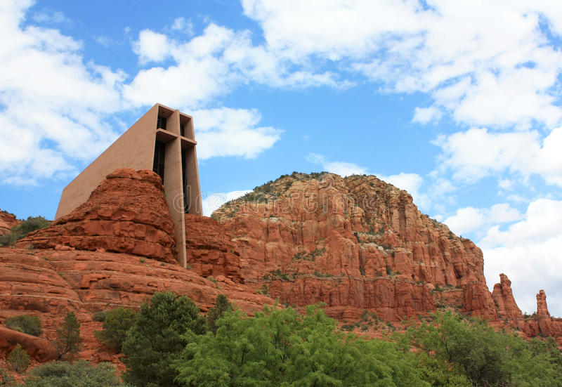 Chapel of the holy cross royalty free stock photos