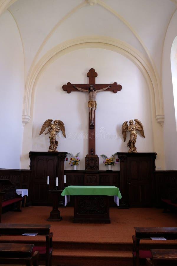 Free Chapel In The Carthusian Monastery In Pleterje, Slovenia Royalty Free Stock Photo - 94814875