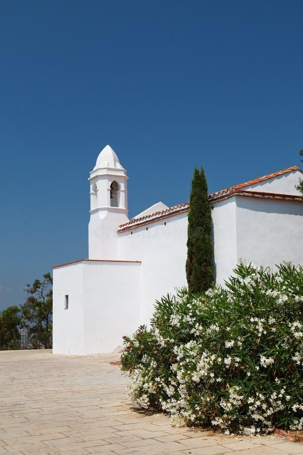 Chapel John Baptist Costa Brava, Katalonien, Spanien arkivfoto