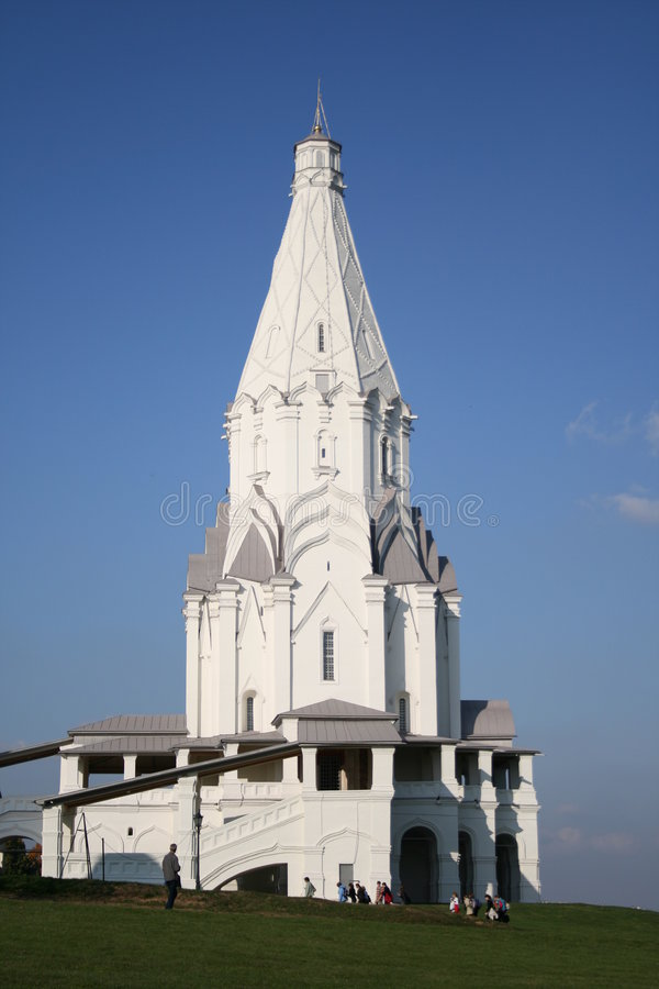 Chapel. Moscow. Russia. stock images