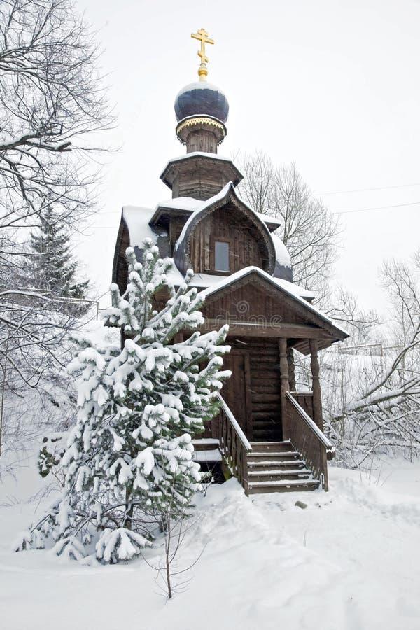 Chapel near a healthful source imagens de stock