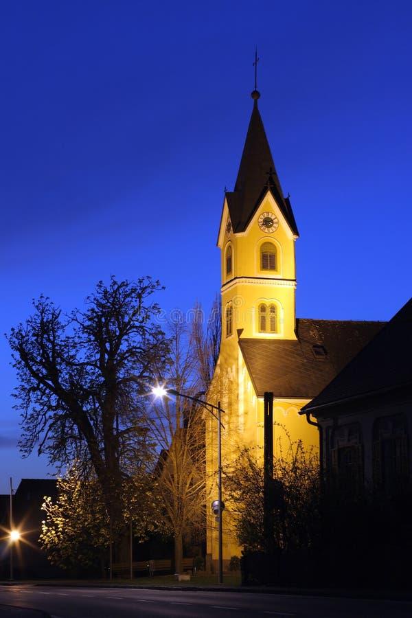 Free Chapel Of Paurach At Night Royalty Free Stock Photo - 8947605