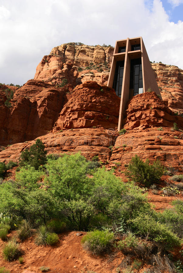Free Chapel Of The Holy Cross In Sedona Royalty Free Stock Image - 15550876