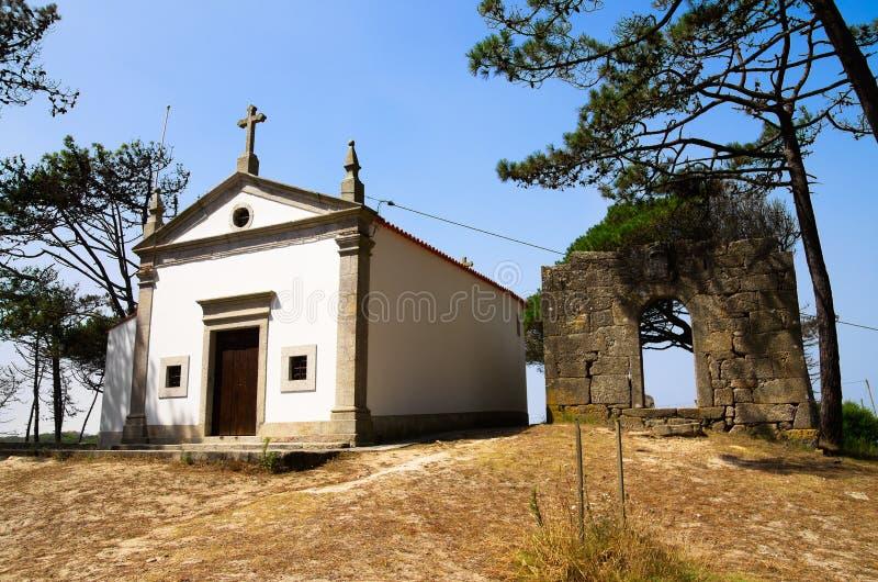 Chapel - Our Lady of Bonanca, Esposende royalty free stock photo