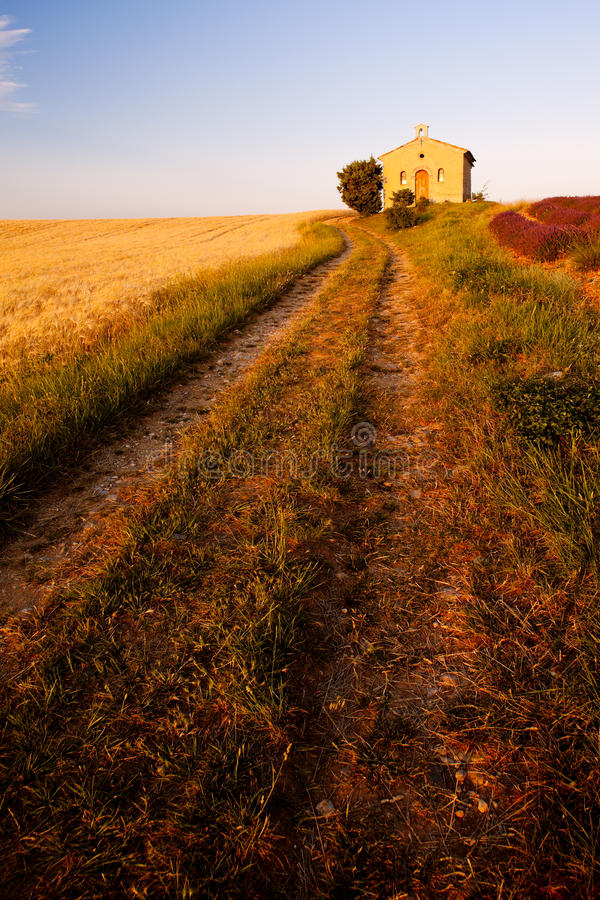 Chapel, Provence, France Royalty Free Stock Image