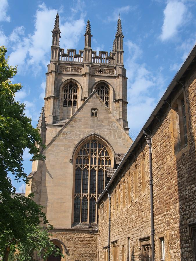 Merton College of Oxford University, stock photography