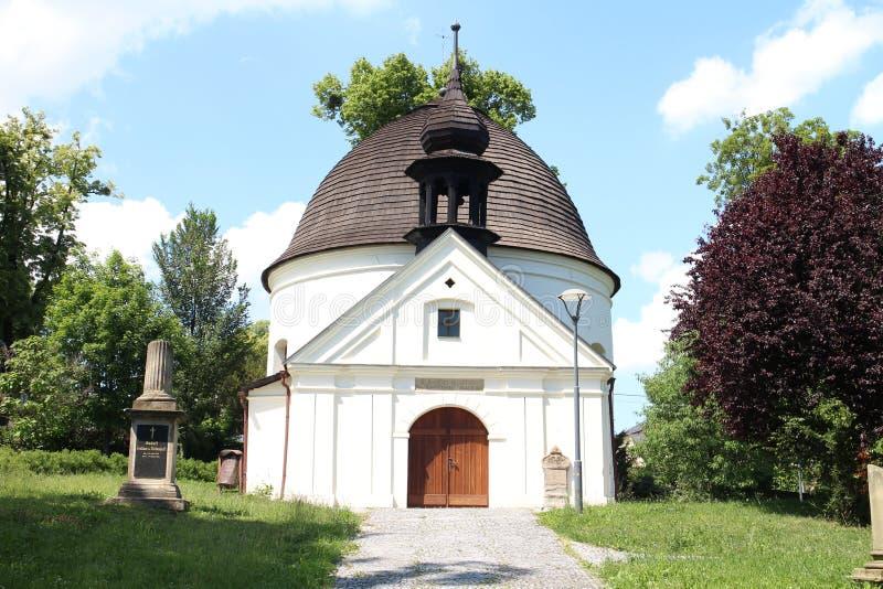 Chapel of St. Roch and Sebestian in Fulnek. Czech republic royalty free stock image