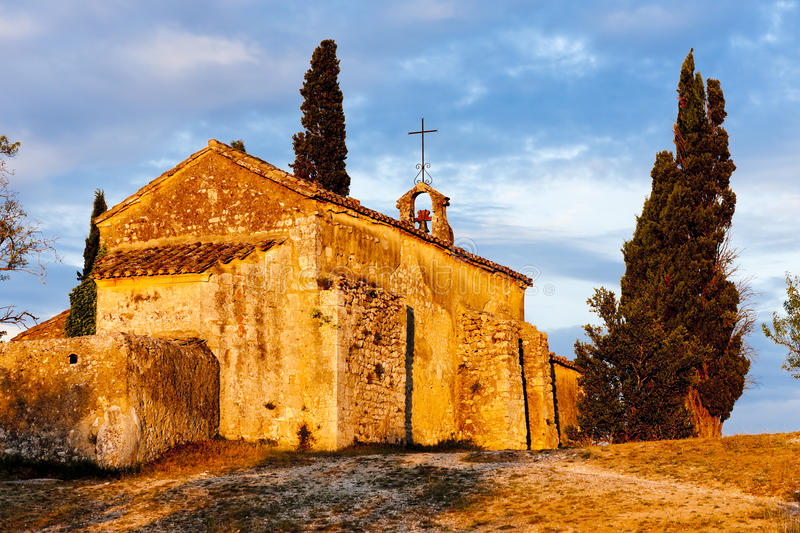 Download Chapel St. Sixte, Provence stock photo. Image of europe - 27009692
