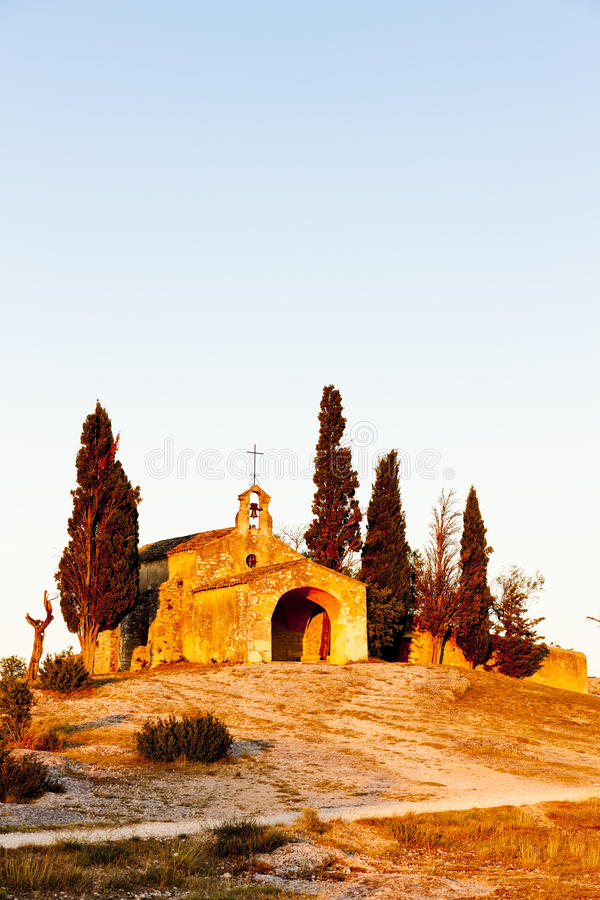 Download Chapel St. Sixte, Provence stock image. Image of rhone - 27009693