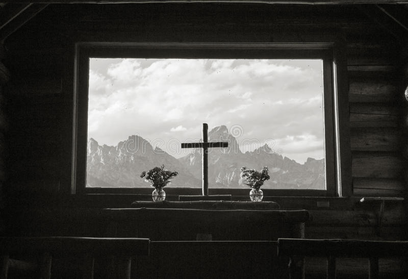 Chapel of Transfiguration stock images