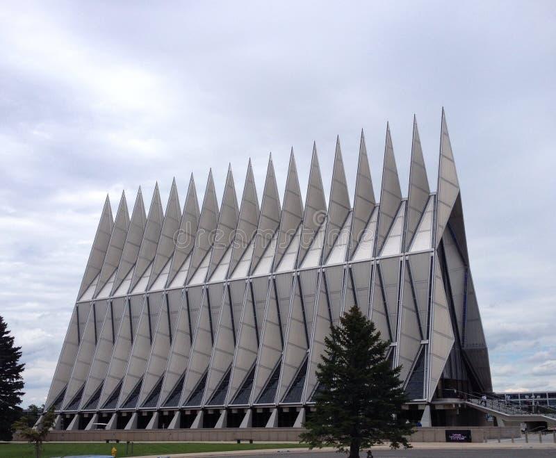 Chapelle à l'Armée de l'Air acadamy image libre de droits