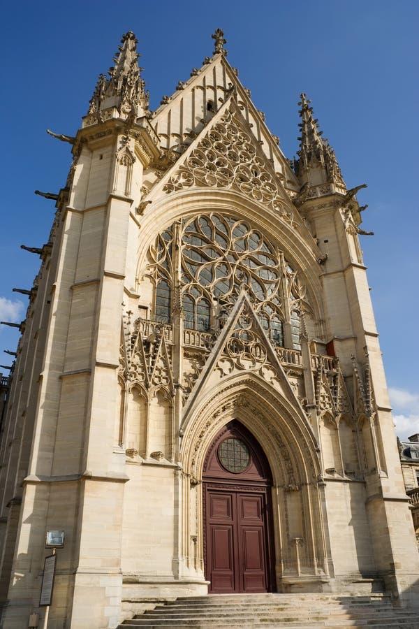 chapelle świętego kaplicy sainte fotografia stock