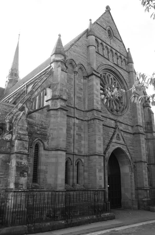 Chapelle catholique à Bath de Hercule, Roumanie images stock
