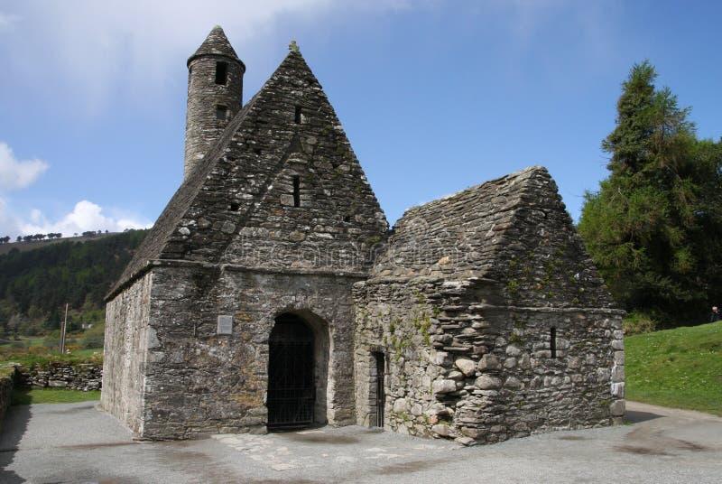 Chapelle chez Glendalough photos stock