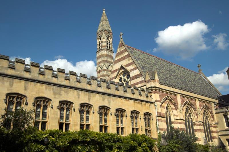 Chapelle d'université de Balliol photo stock