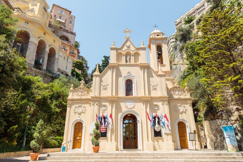 Chapelle de Λα Misericorde στο Μονακό στοκ εικόνα με δικαίωμα ελεύθερης χρήσης