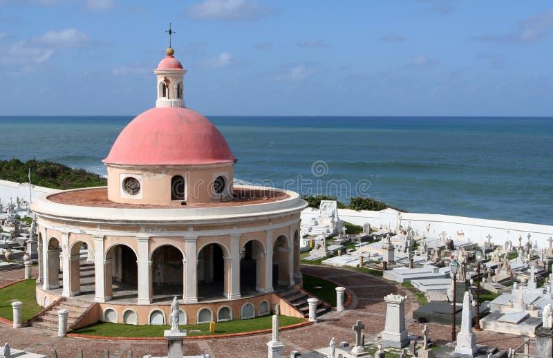 Chapelle de cimetière de San Juan photos stock