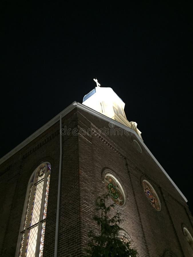 Chapelle de la conception impeccable à l'université de Dayton photo stock