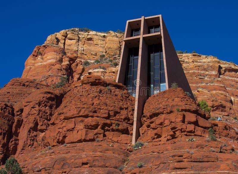 Chapelle de la croix sainte images stock