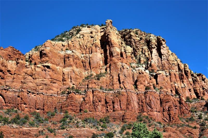 Chapelle de la croix sainte, Sedona, Arizona, Etats-Unis image libre de droits