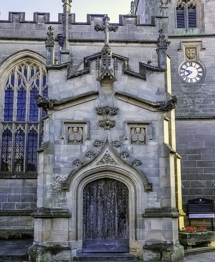 Chapelle de la guilde de la croix sainte à Stratford-sur-Avon, le Warwickshire, Royaume-Uni photographie stock