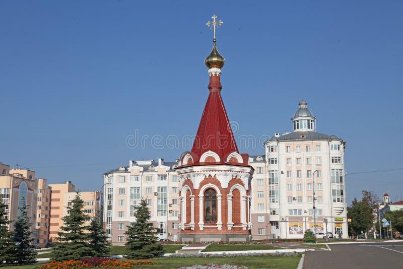 Chapelle de république de la Russie Mordovie à Saransk photo stock