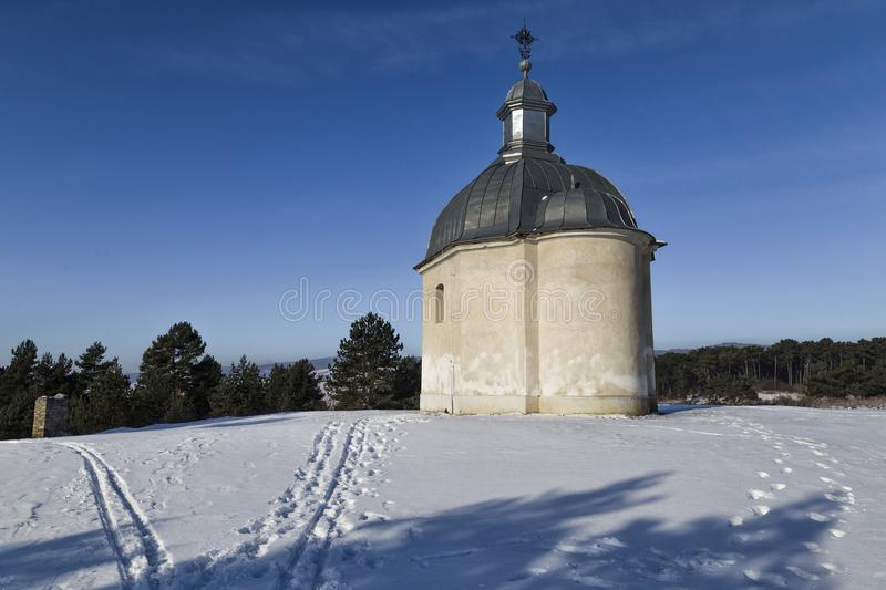 Chapelle de Rozalia de saint Attraction touristique en Slovaquie photos stock