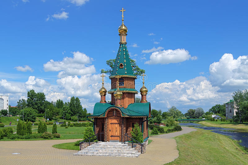 Chapelle de saint Barbara dans Slutsk, Belarus photos stock