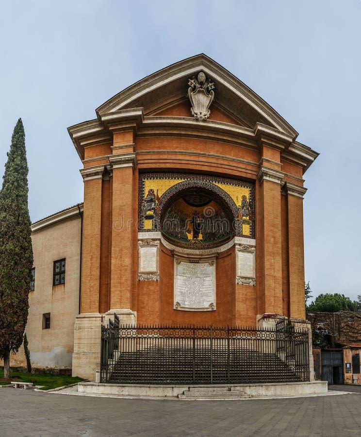 Chapelle de San Lorenzo à Rome, Italie photos stock