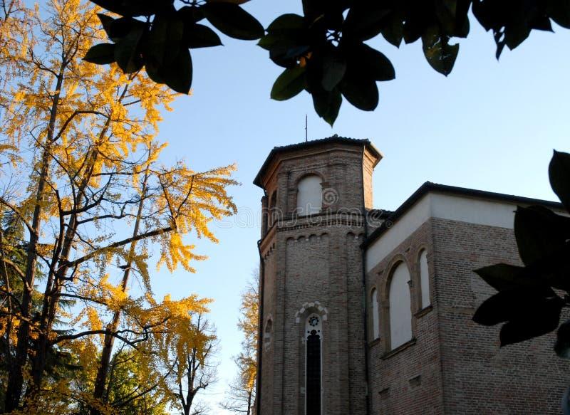 Chapelle de Scrovegnia Padoue en Vénétie (Italie) image libre de droits